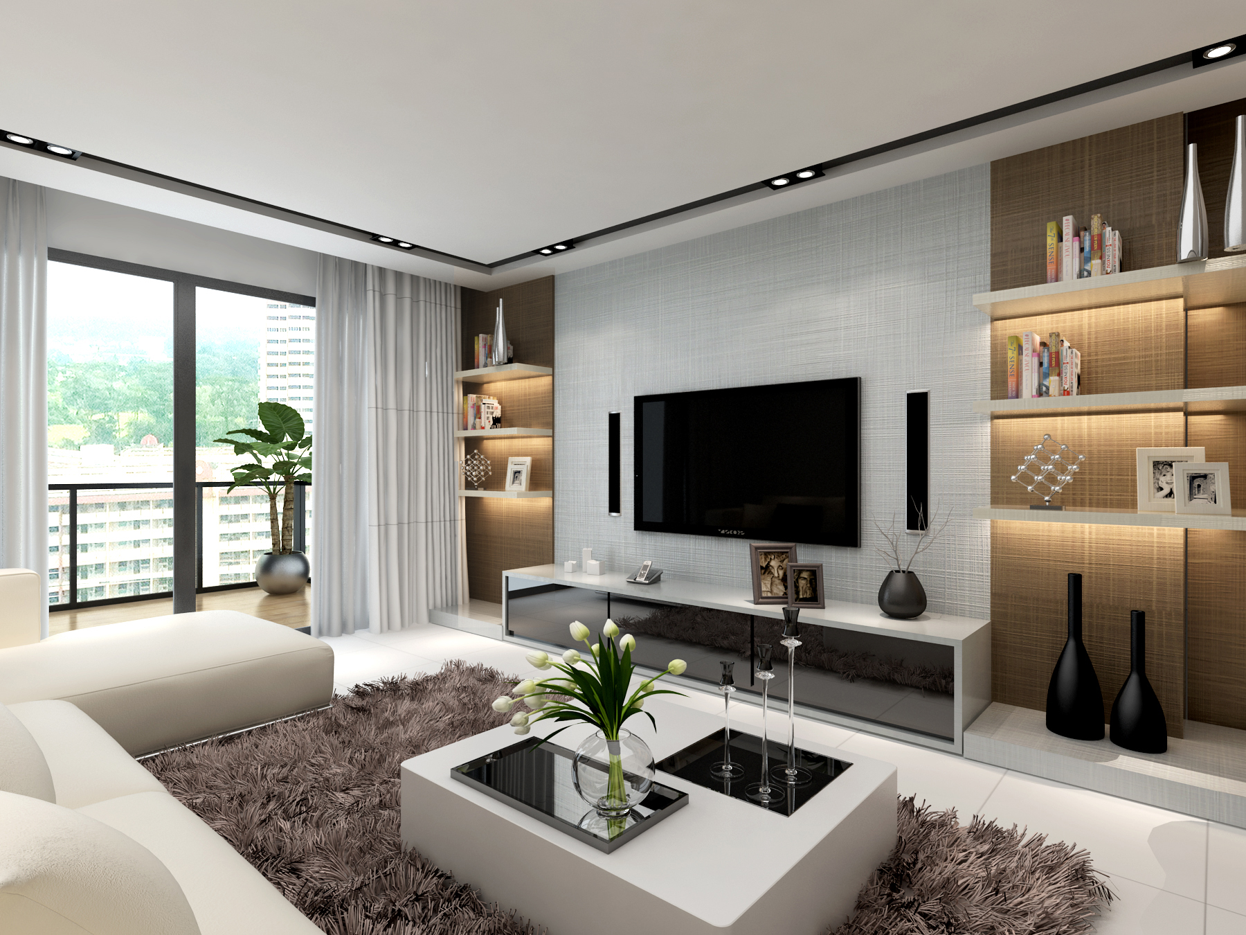 living room p7 - laminate supplier singapore