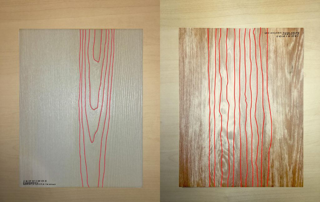 Synchronized vs non-synchronized laminate33 - laminate wall