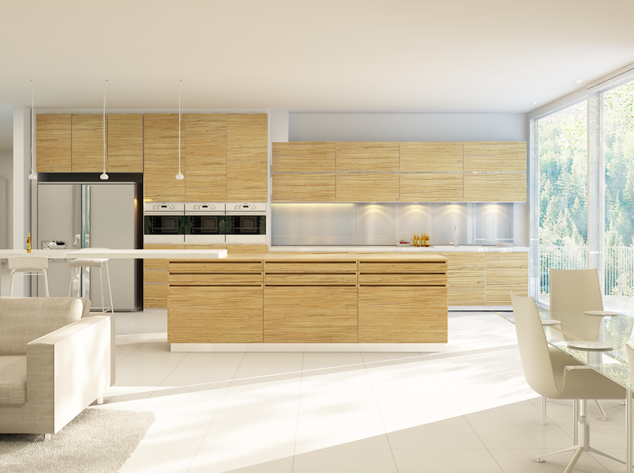 Perfect kitchen with laminates
