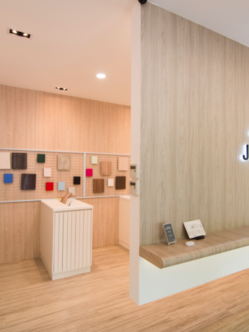 Newly renovated Jennings laminate gallery