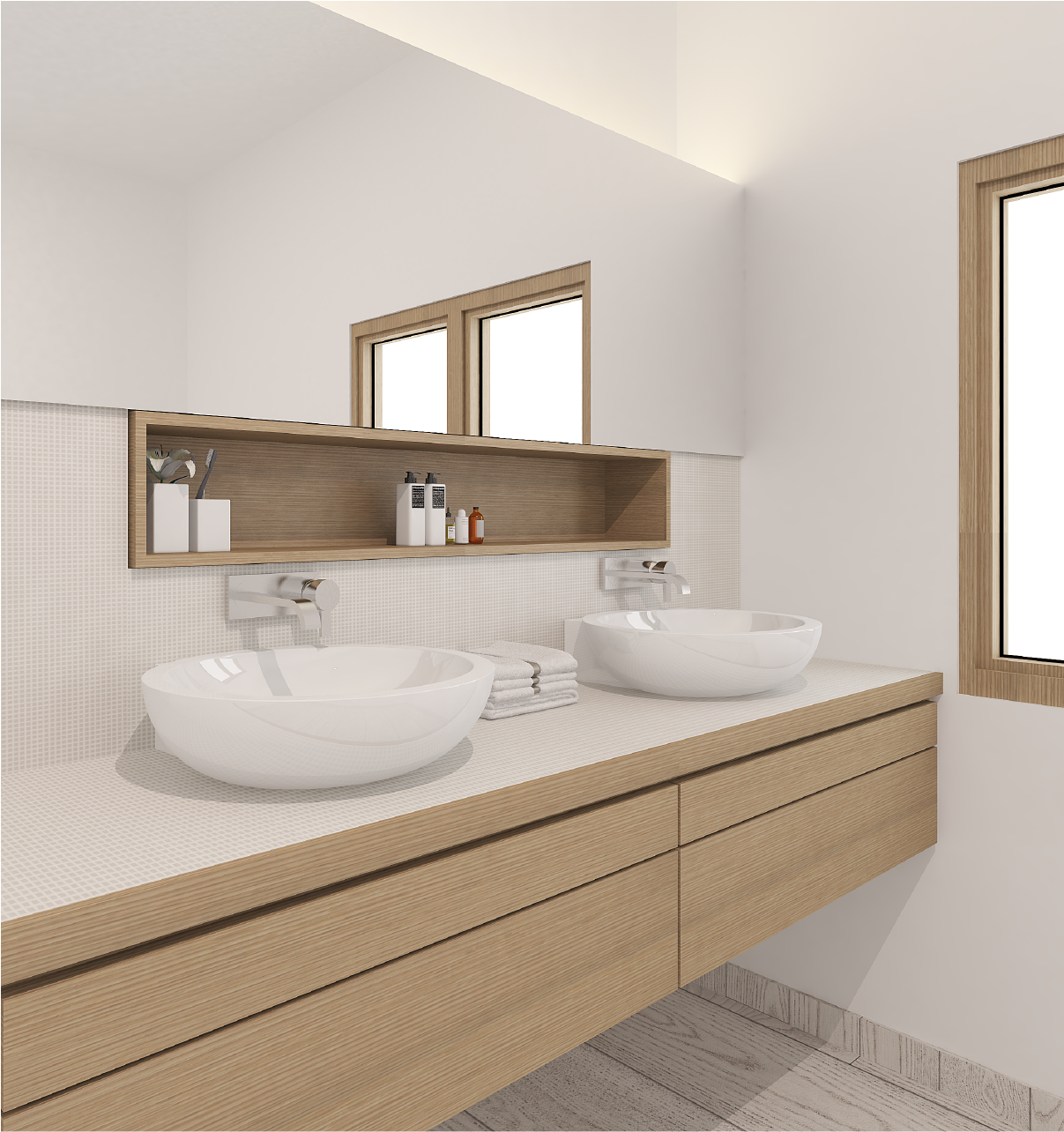 Toilet cabinets 94 - high pressure laminate singapore