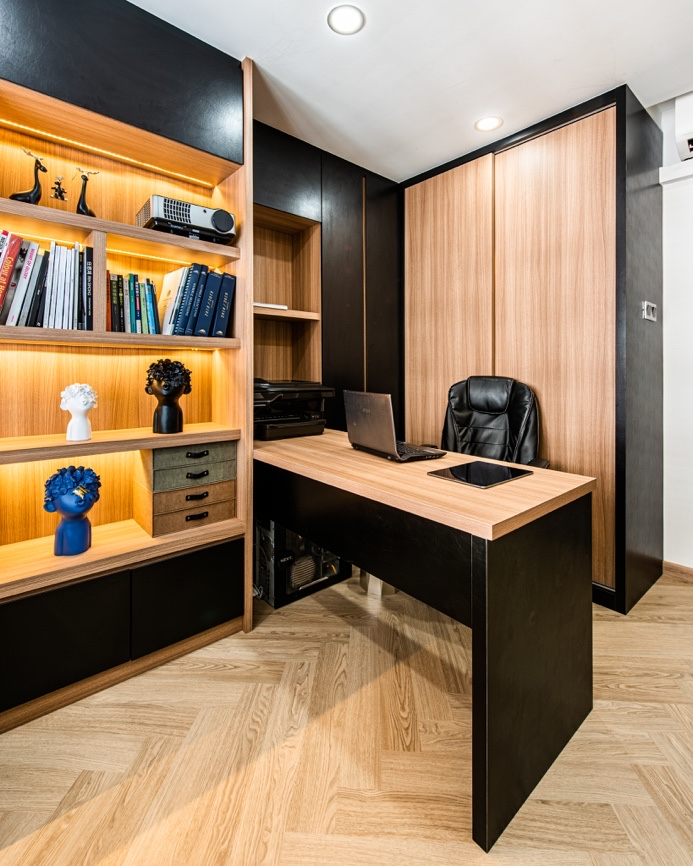 Study Room | cabinet laminate singapore | Jennings SG